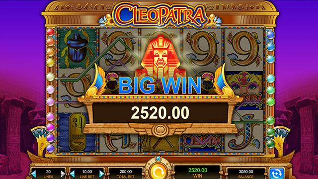 Cleopatra Slot ITG Bonus