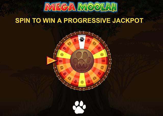 Mega Moolah Slot Bonus Game