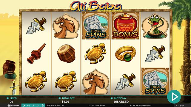 Ali Baba Slot Game