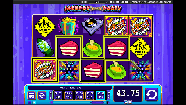 Jackpot Block Party Slot Machine