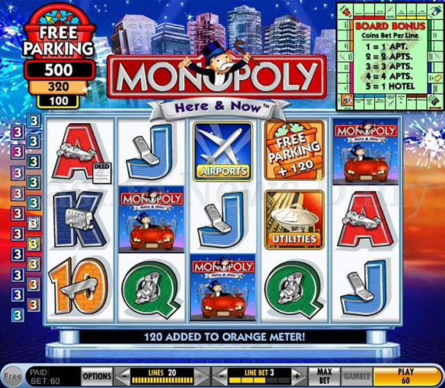 Monopoly Free Slot Game IGT