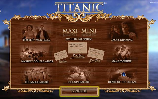 Titanic Slot Machine Bally