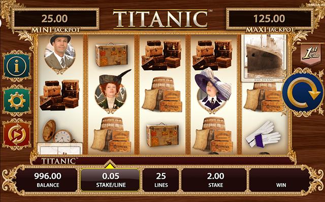 Titanic Slot Bally