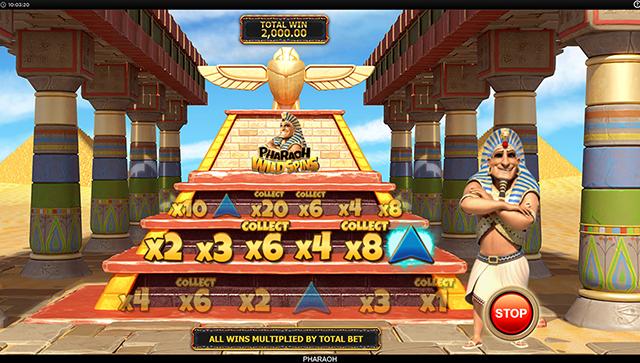 Pharaoh Slot Machine Bonus Game